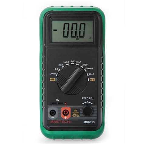 capasitor meter portable digital capacitor capacitance tester meter lcd display ebay