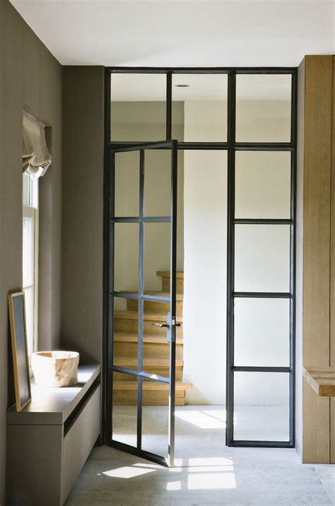 Glass And Steel Doors Interior Doors European Industrial