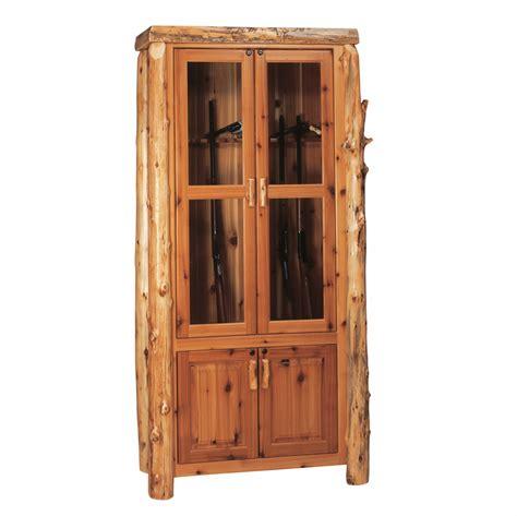 Cedar Cabinet by Cedar Eight Gun Cabinet