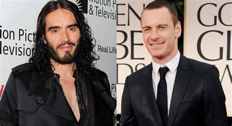 film host adalah russell brand ingin menikah dengan michael fassbender