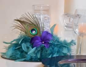 peacock feather centerpieces 10 peacock feather wedding reception centerpieces by