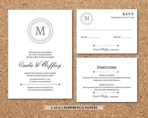 wedding rsvp menu choice template editable wedding invitation rsvp card and insert card