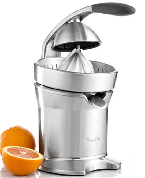 Juicer Automatic 7 In 1 breville 800cpxl juicer motorized citrus press