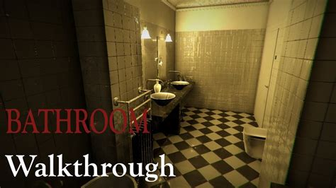 the bathtub game bathroom japanese horror game demo no commentary