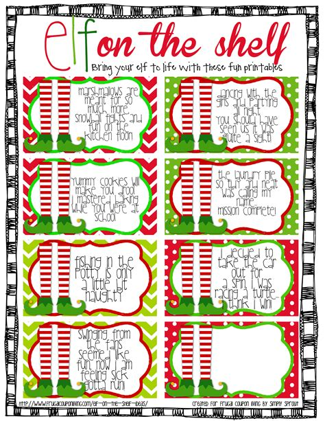 printable elf sick note elf on the shelf ideas fun with the girls