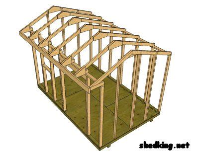 Where Can I Find Blueprints For My House How To Build A Shed Roof Shed Roof Construction Shed