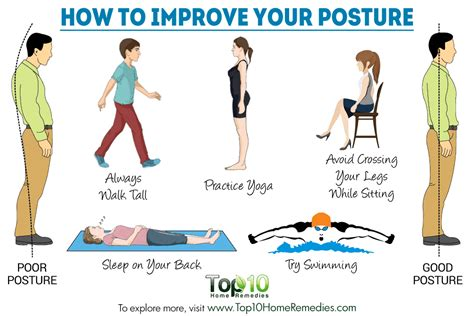 what does your sitting position talk about your personality how to improve your posture top 10 home remedies
