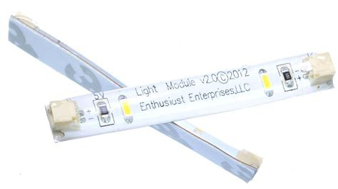 Connecting Led Light Strips Warm White Led And Connecting Cable 2 Pack From Brickstuff On Tindie