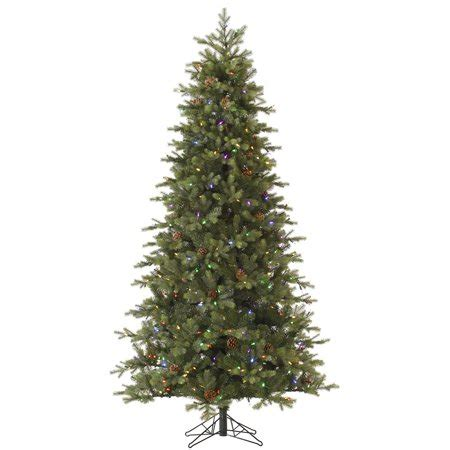 instant shape christmas trees 9 pre lit slim rocky mountain instant shape artificial tree multi color led lights