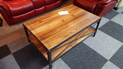 Dorsey Furniture by Ifd Occasional Rustic Livingroom Cocktail End Table Sofa