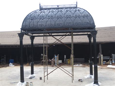 10 x 15 gazebo 10 x 15 cast iron open solid roof gazebo 26 ebay