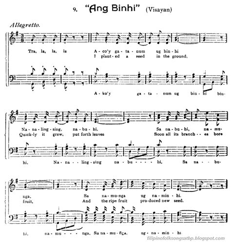 song in tagalog traditional folk songs american canadian
