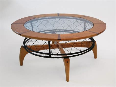 Crab Table by Custom Cherry Crab Pot Coffee Table By Dogwood Design