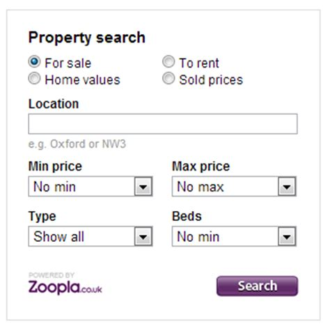 zoopla property api property widget