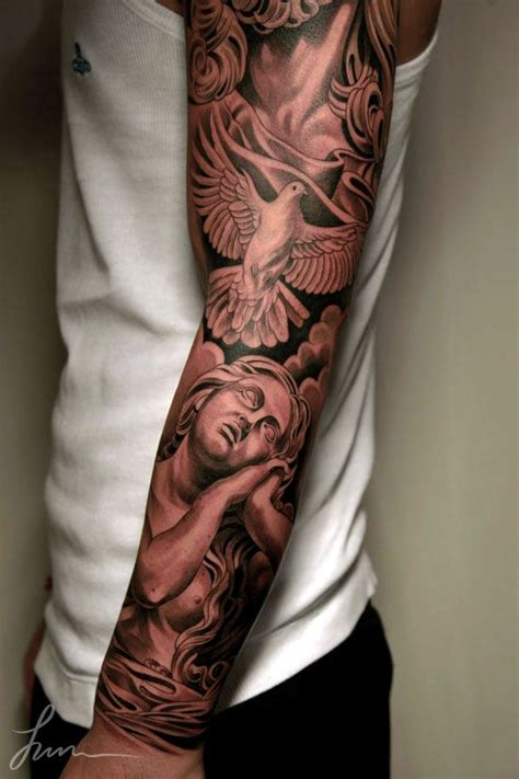 Collection Of 25 Sleeve Tattoo Ideas Weeping 30 Cool Arm Tattoos For