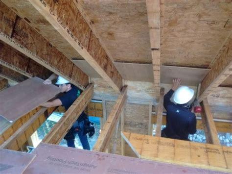 Garage Attic Ventilation by Attic Ventilation Channels Homebuilding