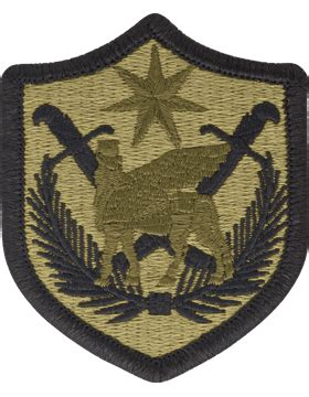 operational camouflage pattern unit patches ocp unit patch multi national force iraq with fastener