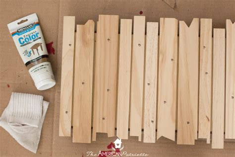 how to make a light up sign diy rustic light up christmas sign the american patriette