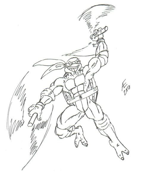 michelangelo the ninja turtle by king taurus on deviantart