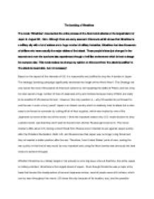 Hiroshima Essay by Essays About Sports