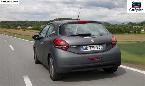 car peugeot 208 peugeot 208 2017 prices and specifications in car