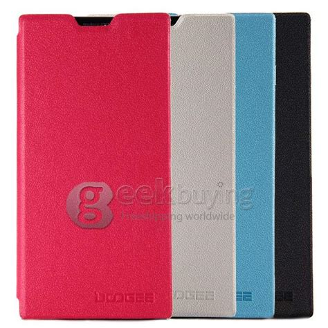 Ipearl New Leather With Stand Pink 1 protective cover flip stand leather for doogee dg550 pink