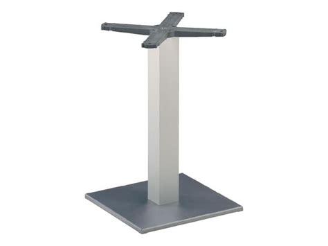basi tavolo base per tavolo da bar colonna in alluminio anodizzato