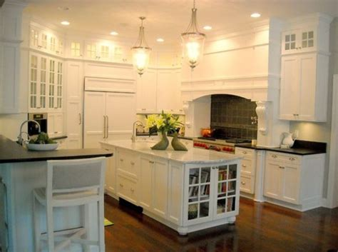 Kitchen Bookcases bookcase with glass doors in the kitchen for all your cookbooks decoist