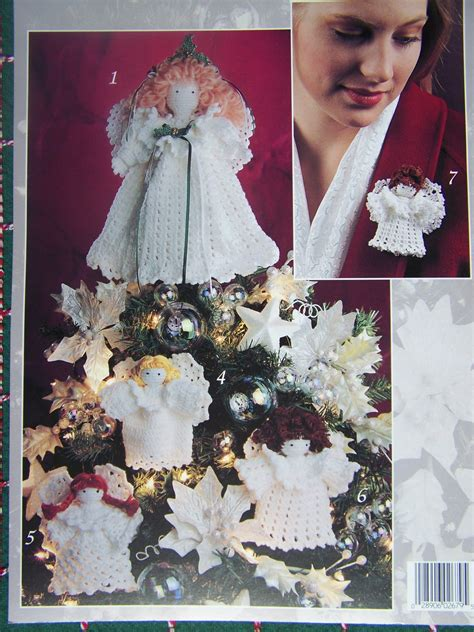 angel christmas tree topper pattern free usa s h crochet christmas angel patterns tree topper