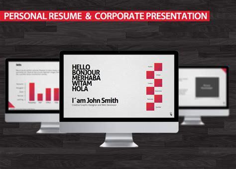 Resume Template Keynote by Creative Keynote Resume Templates