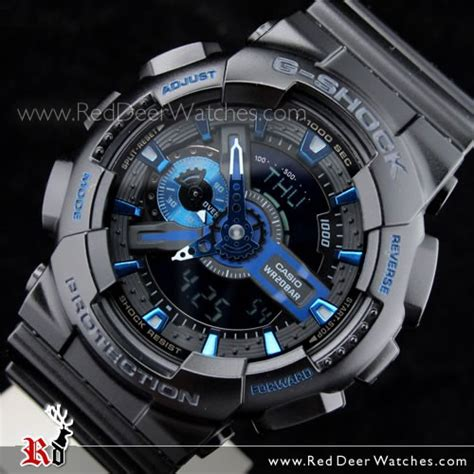 G Shock Blue buy casio g shock black blue 30th anniversary ltd ga