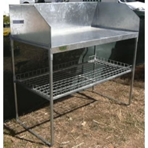 galvanized potting bench potting benches galvanized steel tube frame storage pots
