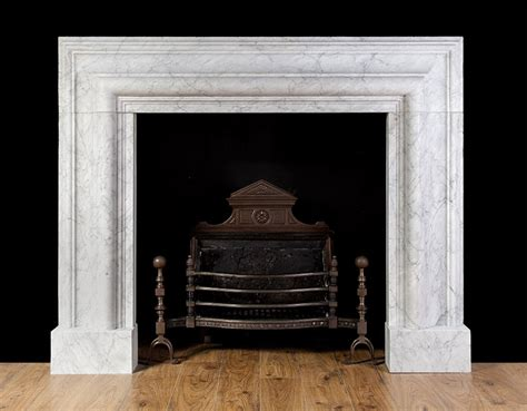 Large Marble Fireplaces by Large Carrara Bolection New Fireplaces New Marble