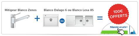 mitigeur evier 2185 robinetterie blancozenos blanc achat vente blanco 517808