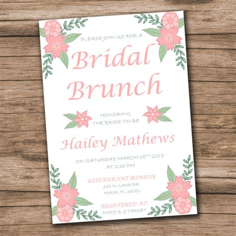 editable bridal shower invitation templates bridal shower invitation template instantly