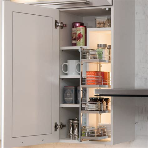 inside cabinet spice rack hafele kessebohmer spice rack for mounting on cabinet door or inside on cabinet side