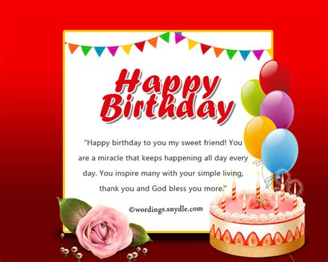 Happy Birthday Wish For Friend Birthday Messages For Friends On Facebook Wordings And