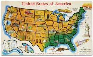 united states tourist attractions map maps and waterways feeding the muse