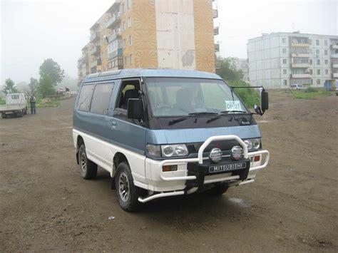 1991 mitsubishi delica 1991 mitsubishi delica pics 2 5 diesel automatic for sale