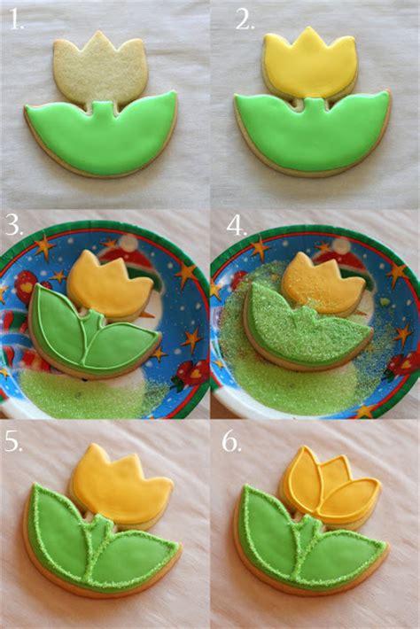 how to decorate cookies tulip cookies glorious treats
