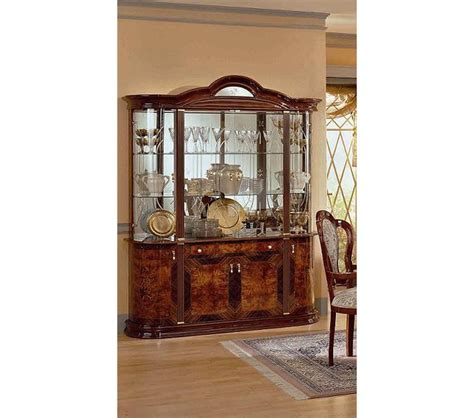 italian lacquer dining room furniture arienne dining dreamfurniture com milady italian lacquer 4 door china