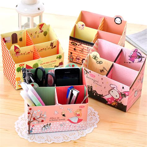 How To Make Pencil Box With Paper - box how to make storage boxes