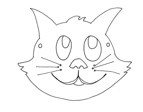 printable mask of cat animal mask template animal templates free premium