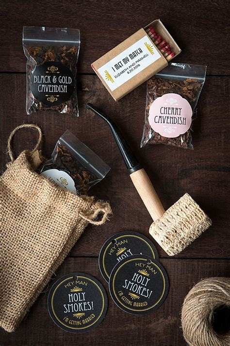 Wedding Favors For Groomsmen by Groomsmen Gifts Holy Smokes Pipe Tobacco Kit Wedding
