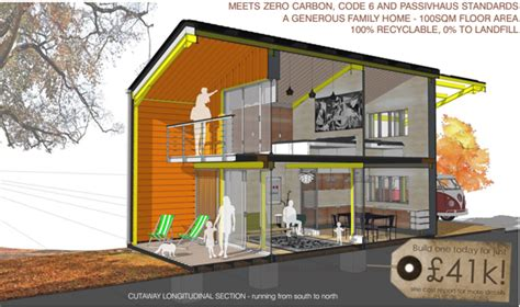 Energy Efficient Home Design Plans by Straw Bale Barnhaus