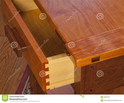 Handmade Dovetail Joints - wooden dovetail joinery stock images image 22865764