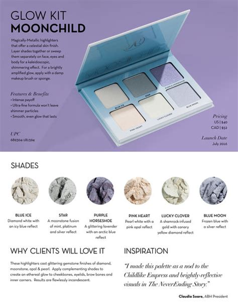 Beverly Moon Child Glow Kit beverly just announced two new glow kits instyle