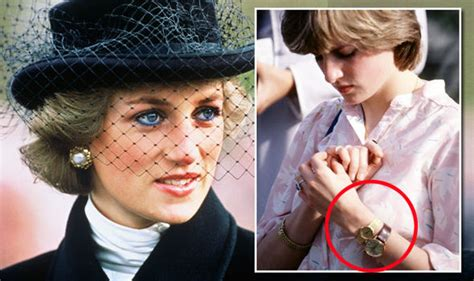 princess diana wore two watches before she married prince