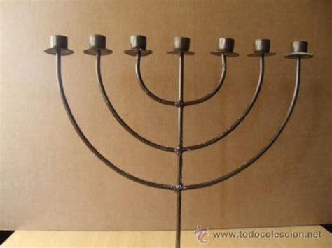 candelabro judio candelabro de 7 brazos o menor 193 judio candelabros