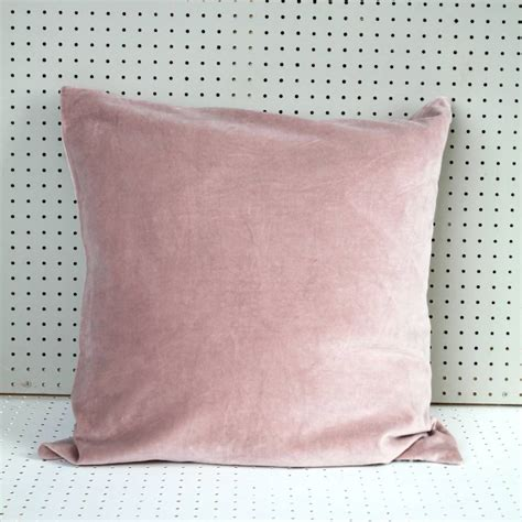 Posh Interiors pink velvet cushion by posh totty designs interiors
